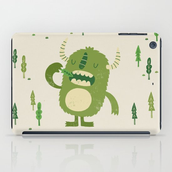 the tree muncher iPad Case