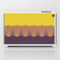 Geometric Sunset Print iPad Case