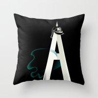 Tyranny of the Alphabet Throw Pillow