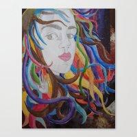 Artista Canvas Print