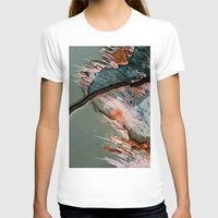 Corrosion Colors II Womens Fitted Tee White SMALL
