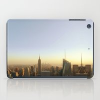 New York Skyline @ Dusk … iPad Case