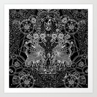 SIN OF IDOLATRY Art Print