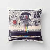 COLOR BLINDNESS Throw Pillow