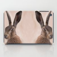 Eostre - The Hare Goddess  iPad Case