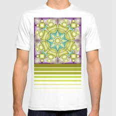 UNIT 09 Mens Fitted Tee White SMALL