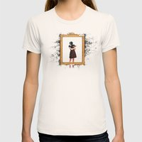 Arty Shit Womens Fitted Tee Natural SMALL