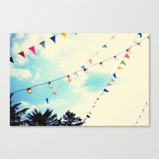 summer festival Canvas Print
