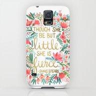 Little & Fierce Galaxy S5 Slim Case