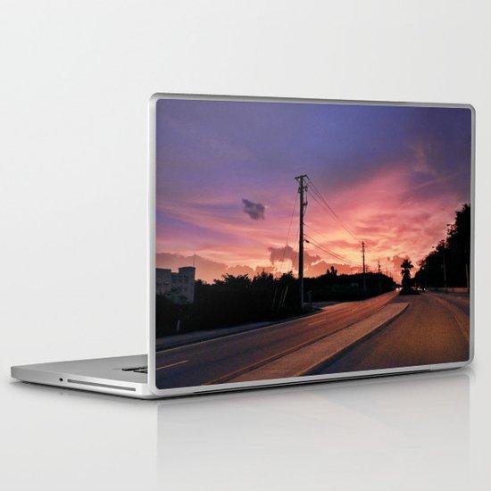 Miami Sunrise Laptop & iPad Skin