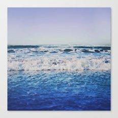 Indigo Waves Canvas Print
