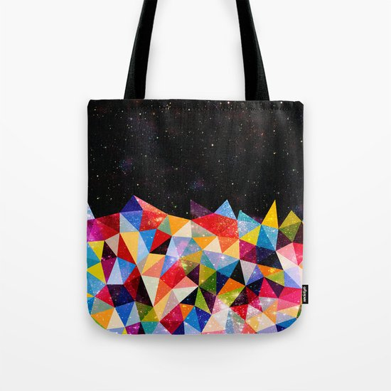 Space Shapes Tote Bag