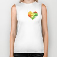 Love In Motion Biker Tank