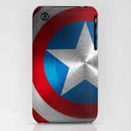 Captain America iPhone (3g, 3gs) Slim Case