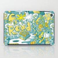 READ BOOKS LITTLE MONSTERS iPad Case