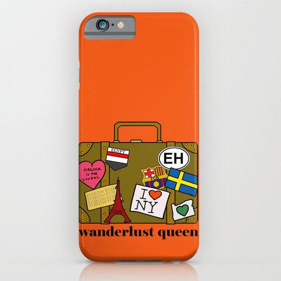 Wanderlust Queen iPhone & iPod Case
