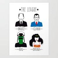 THE LEAGUE Art Print