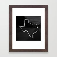 Ride Statewide - Texas Framed Art Print