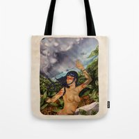 Taino girl Tote Bag