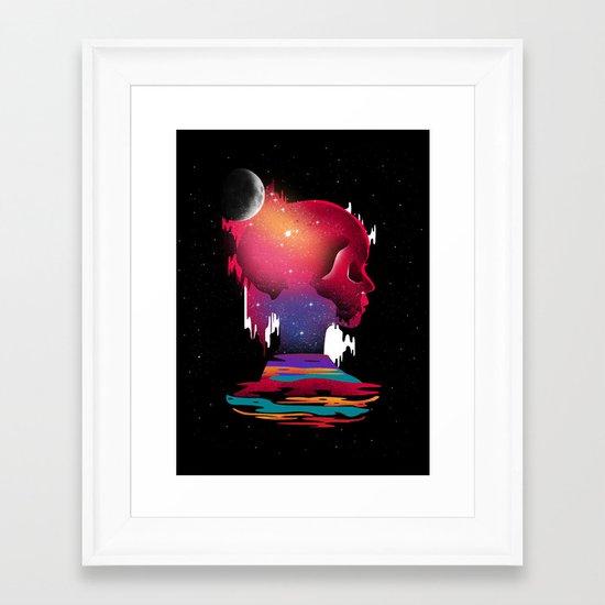 Emotional Abuse Framed Art Print