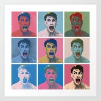Van Warhol Art Print