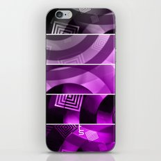 Color Technic (Five Panels Series) iPhone & iPod Skin