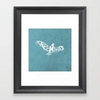 Freebird Framed Art Print