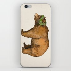 BROWN BEAR iPhone & iPod Skin