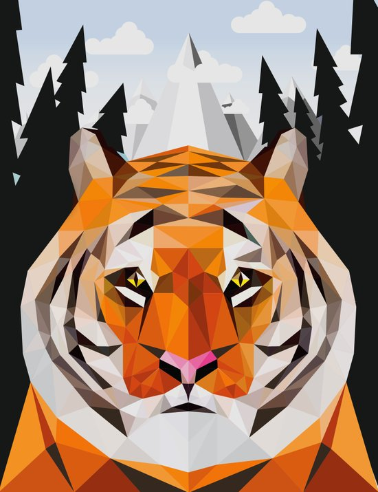 The Siberian Tiger Art Print