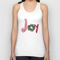 Holiday Joy at Christmastime!  Unisex Tank Top