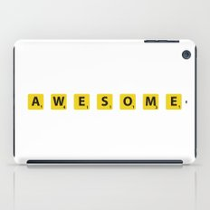 Awesome scrabble iPad Case