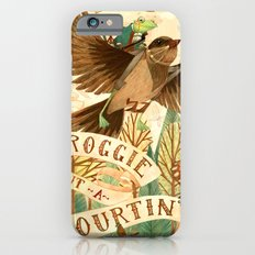 Froggie Went A-Courtin' iPhone 6 Slim Case