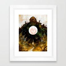 The Heartless Giant Framed Art Print