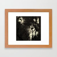 The Forest Of The Wolves Framed Art Print