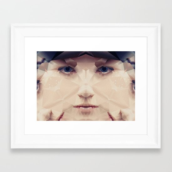 Facet_AB2 Framed Art Print
