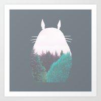 Troll Of The Dreamland F… Art Print