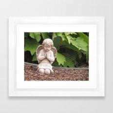 Praying Angel- Faith Framed Art Print