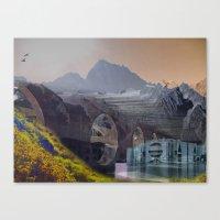 imposscape_02 Canvas Print