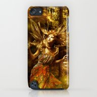 Woman In Forest iPod touch Slim Case