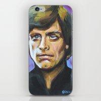 Luke Skywalker iPhone & iPod Skin