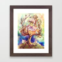 Birth Framed Art Print