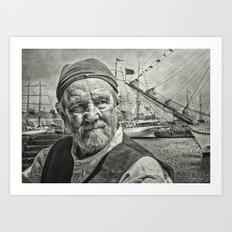 The Old Salt Art Print