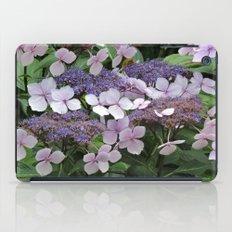 Hydrangea Violet Hues iPad Case
