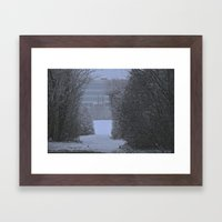 Winter Walk Framed Art Print