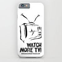iPhone & iPod Case featuring Watch More TV Radio by SupremeFactory