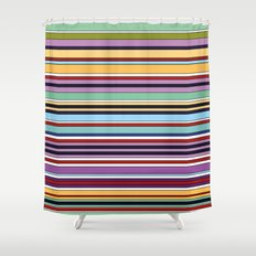 Colorful Symphony of Summer Shower Curtain