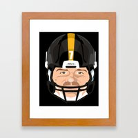 Faces- Pittsburgh Framed Art Print