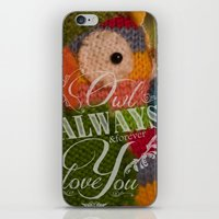Wise Feelings iPhone & iPod Skin