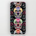 Happy calaveras iPhone & iPod Skin