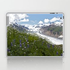 Glacial Flowers Laptop & iPad Skin